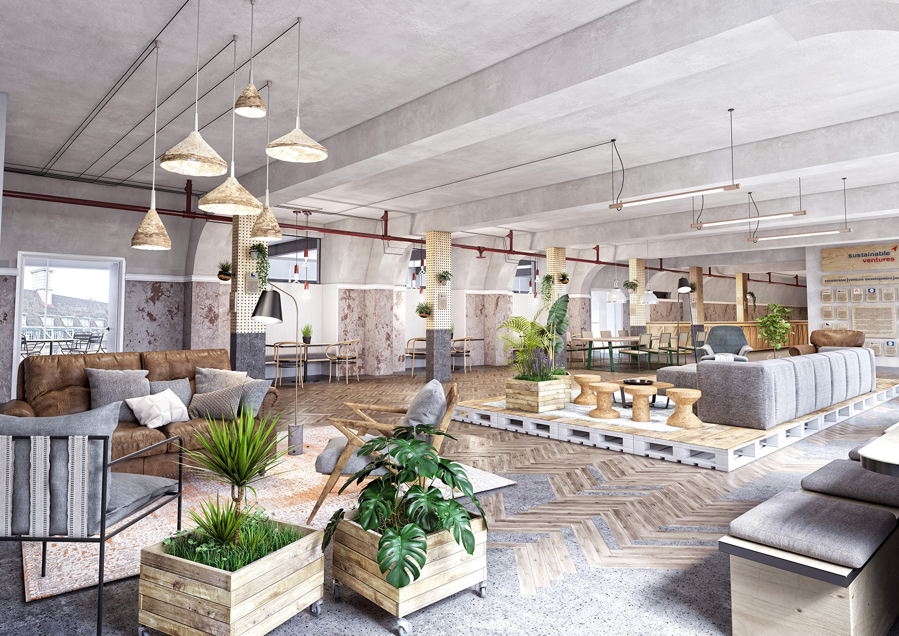 Sustainable Ventures office design