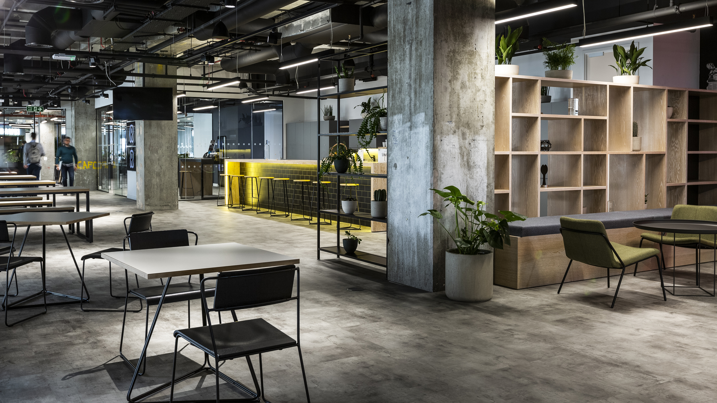 Revolut office in Canary Wharf